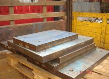M/Steel Plate to Milling Surface
