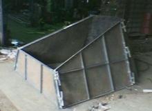 Concrete Mould For Tollhouse