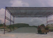 Concrete Site To Build Up Sunshade