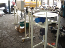 Conveyer of Checking Glass Bottle